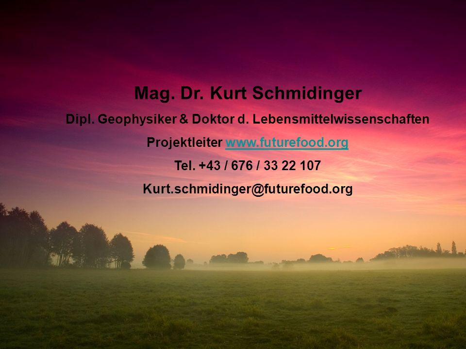 Mag. Dr. Kurt Schmidinger