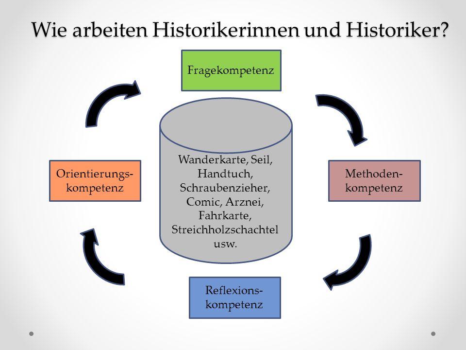 Wie arbeiten Historikerinnen und Historiker