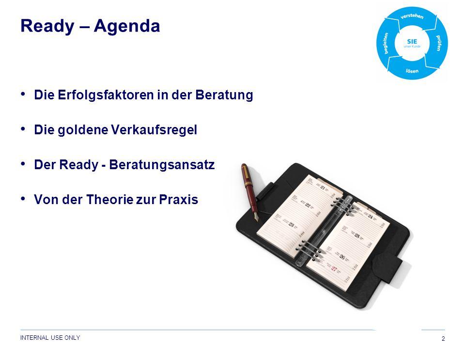 Ready – Agenda Die Erfolgsfaktoren in der Beratung