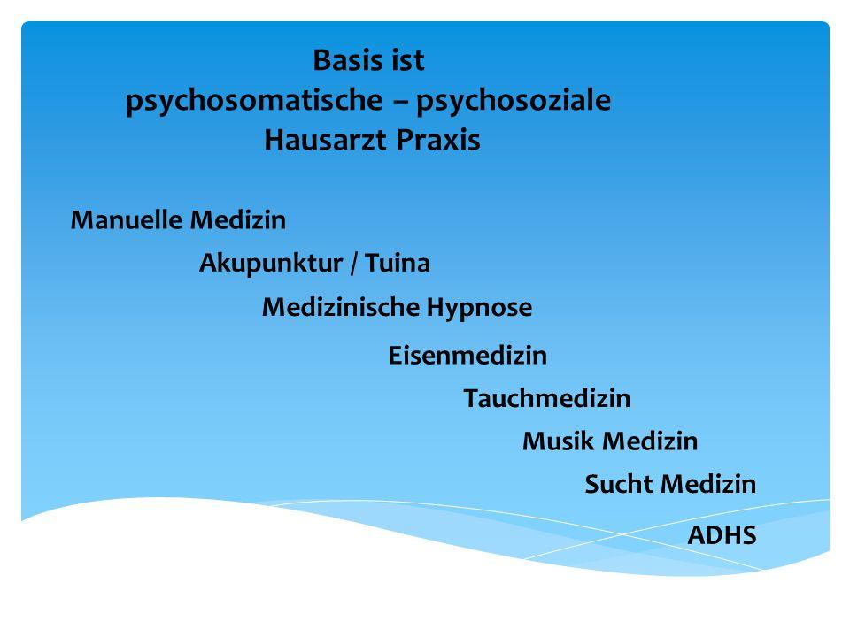 psychosomatische – psychosoziale