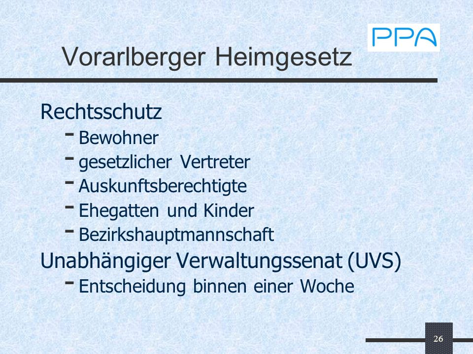 Vorarlberger Heimgesetz