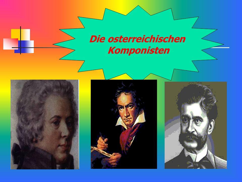 Die osterreichischen Komponisten