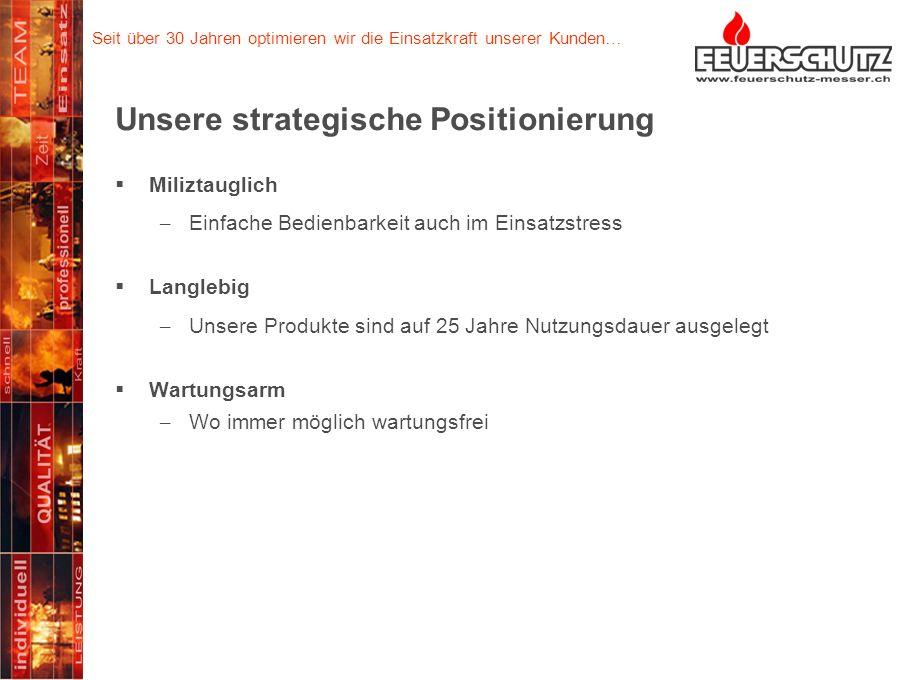 Unsere strategische Positionierung