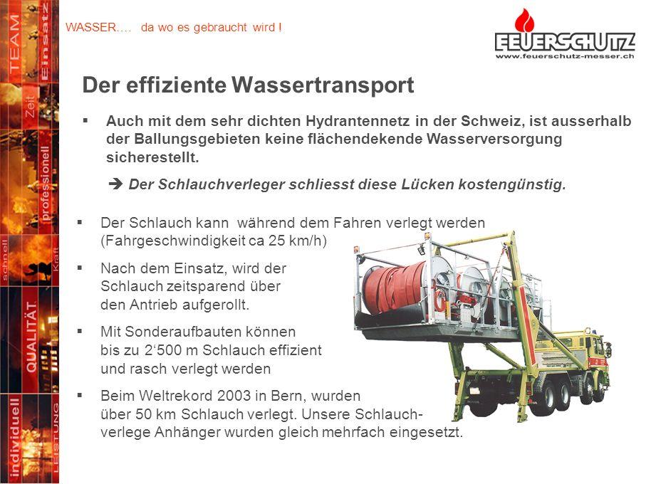 Der effiziente Wassertransport