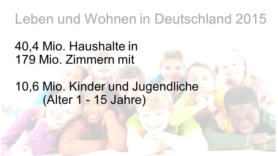 Leben und Wohnen in Deutschland 2015