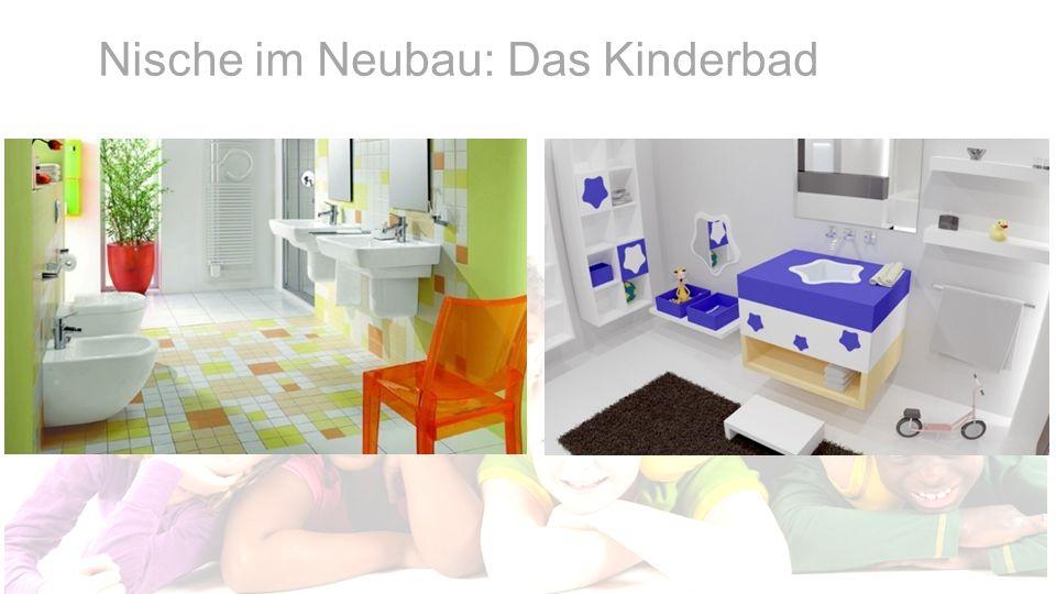 Nische im Neubau: Das Kinderbad