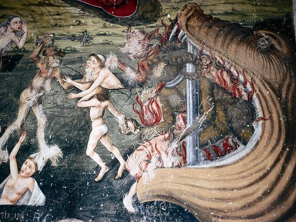 Nach den Überlieferungen soll sich zwischen Schlanders und Laas eine Stadt befunden haben, deren Bewohner große Sünder waren.