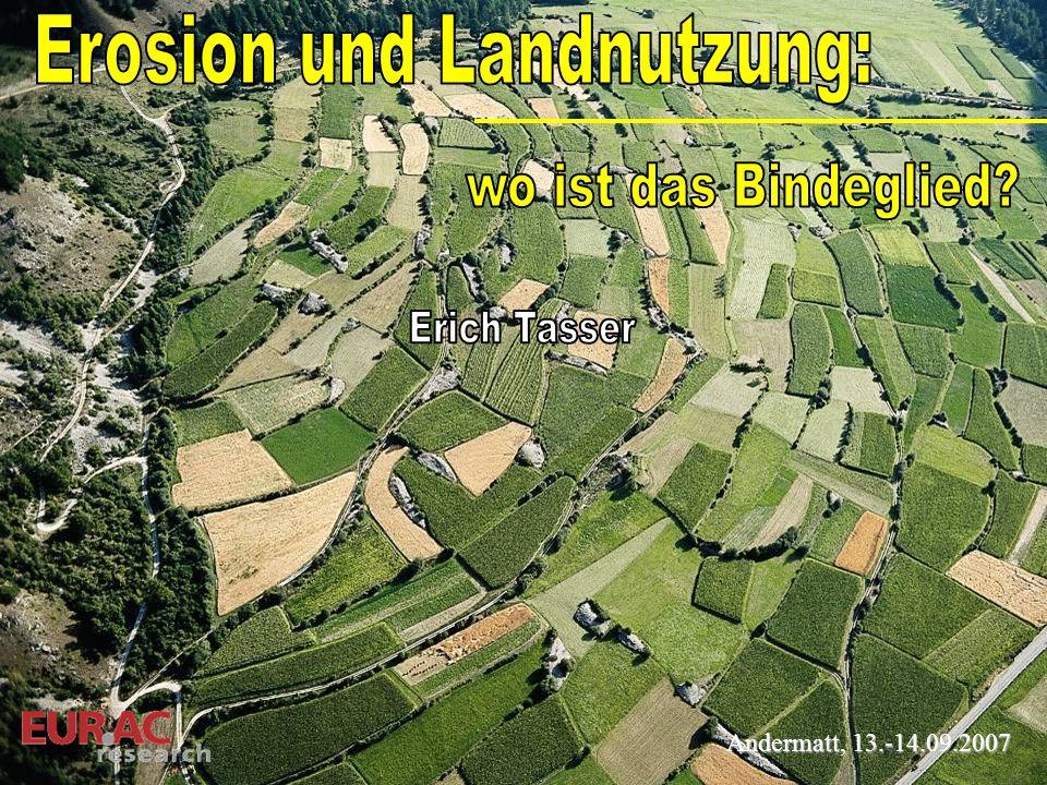 Erosion und Landnutzung: