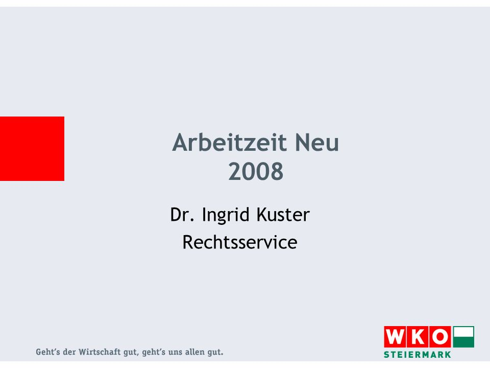 Dr. Ingrid Kuster Rechtsservice