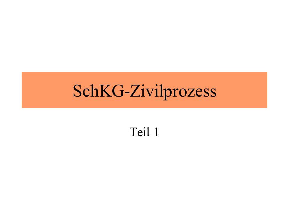 SchKG-Zivilprozess Teil 1