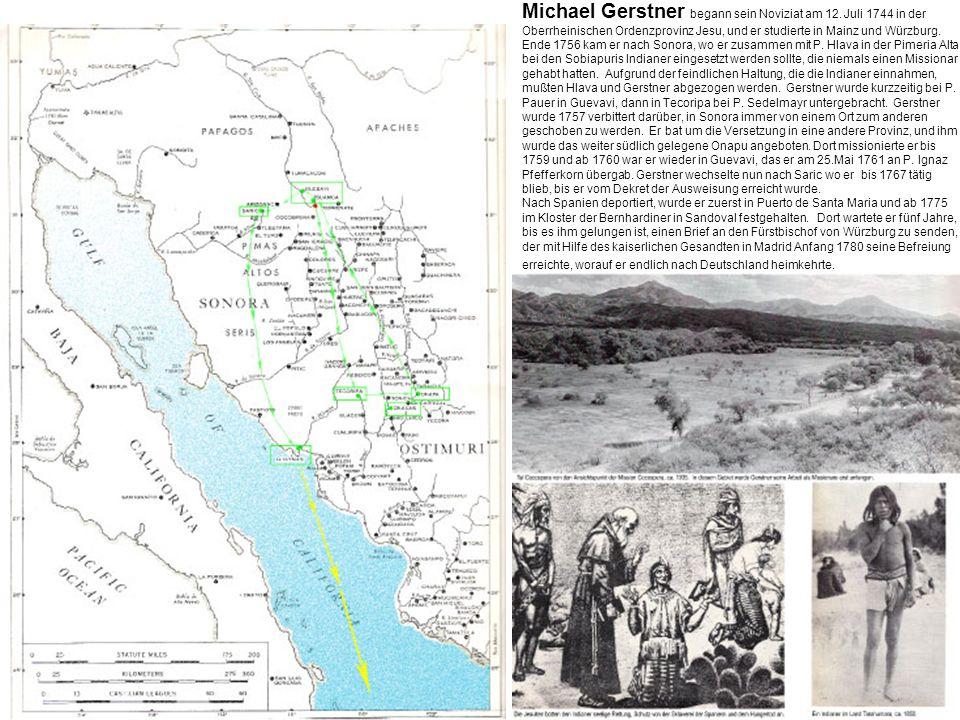 Michael Gerstner begann sein Noviziat am 12