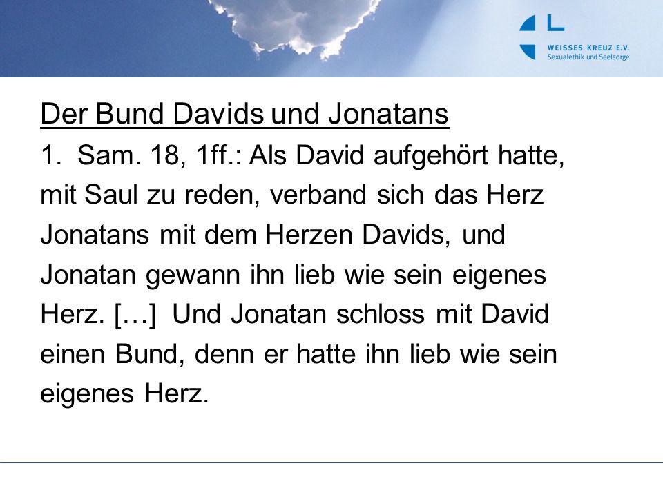 Der Bund Davids und Jonatans