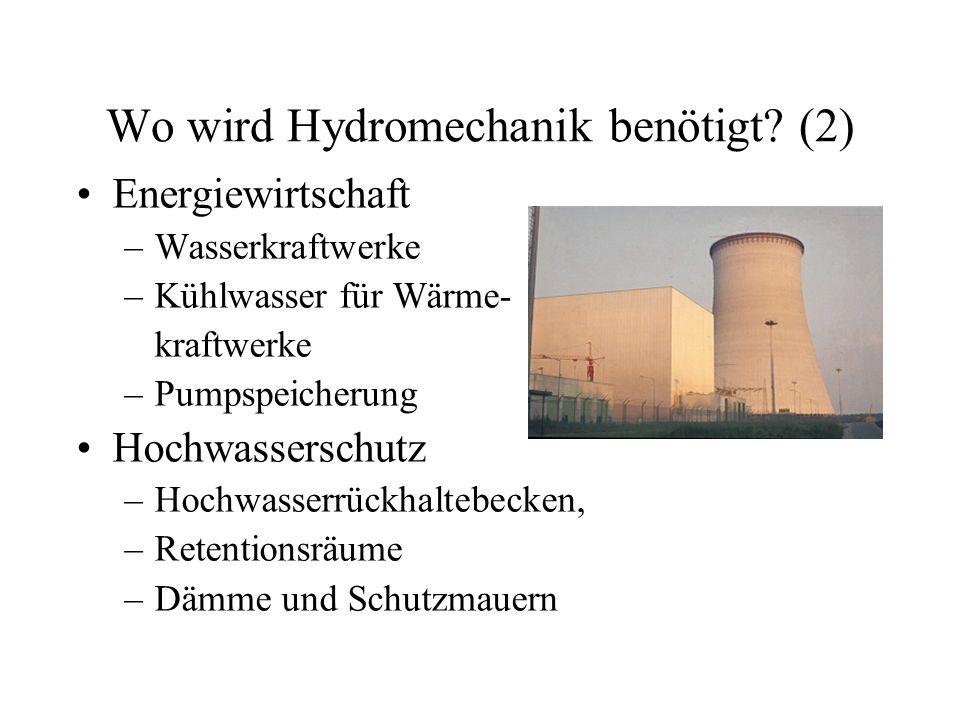 Wo wird Hydromechanik benötigt (2)