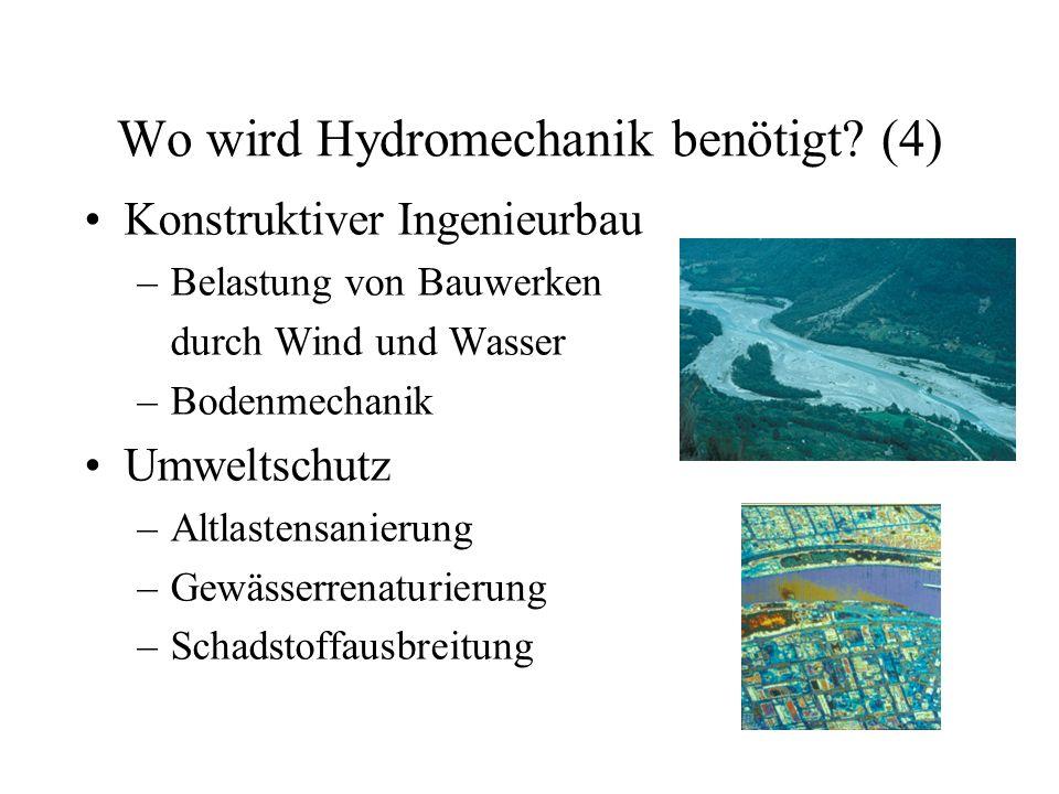 Wo wird Hydromechanik benötigt (4)