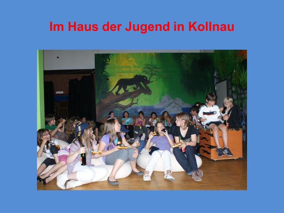 Im Haus der Jugend in Kollnau