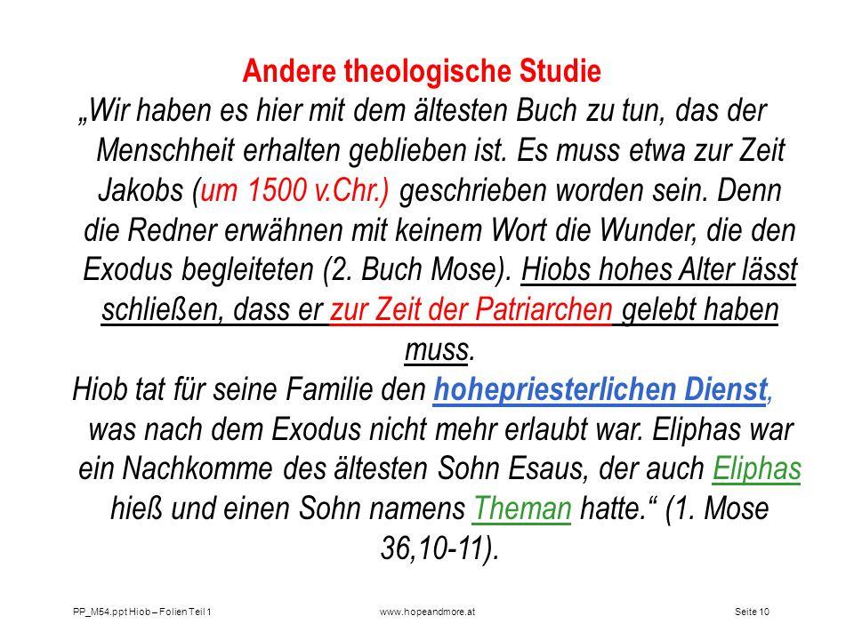 Andere theologische Studie