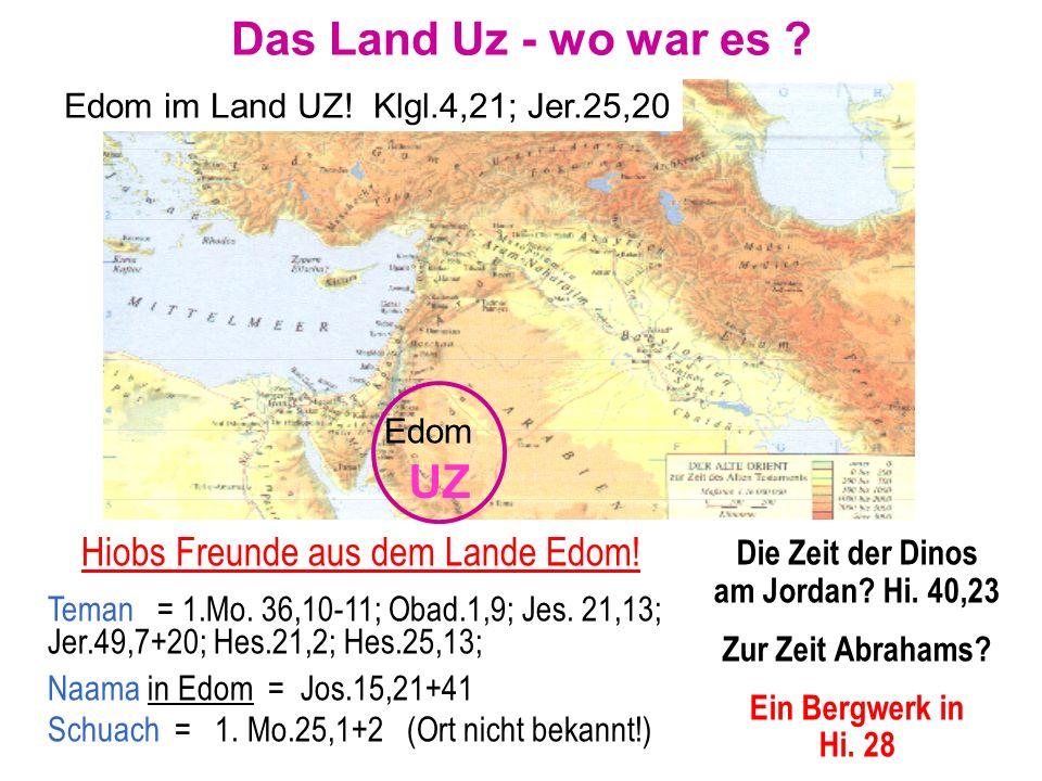 Die Zeit der Dinos am Jordan Hi. 40,23