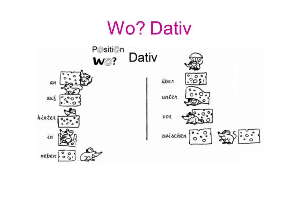 Wo Dativ