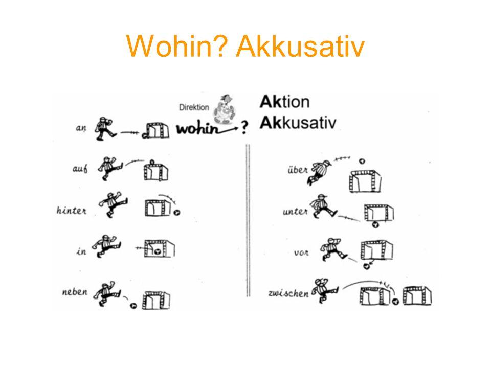 Wohin Akkusativ