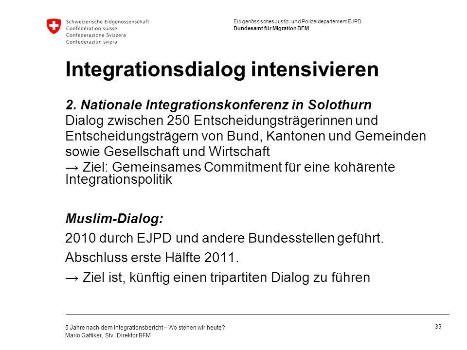 Integrationsdialog intensivieren