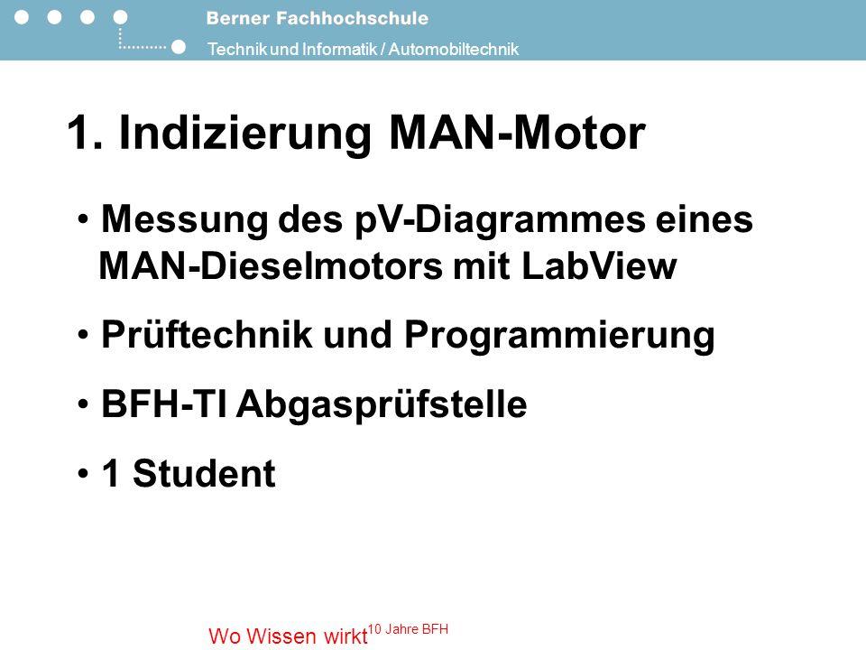 1. Indizierung MAN-Motor