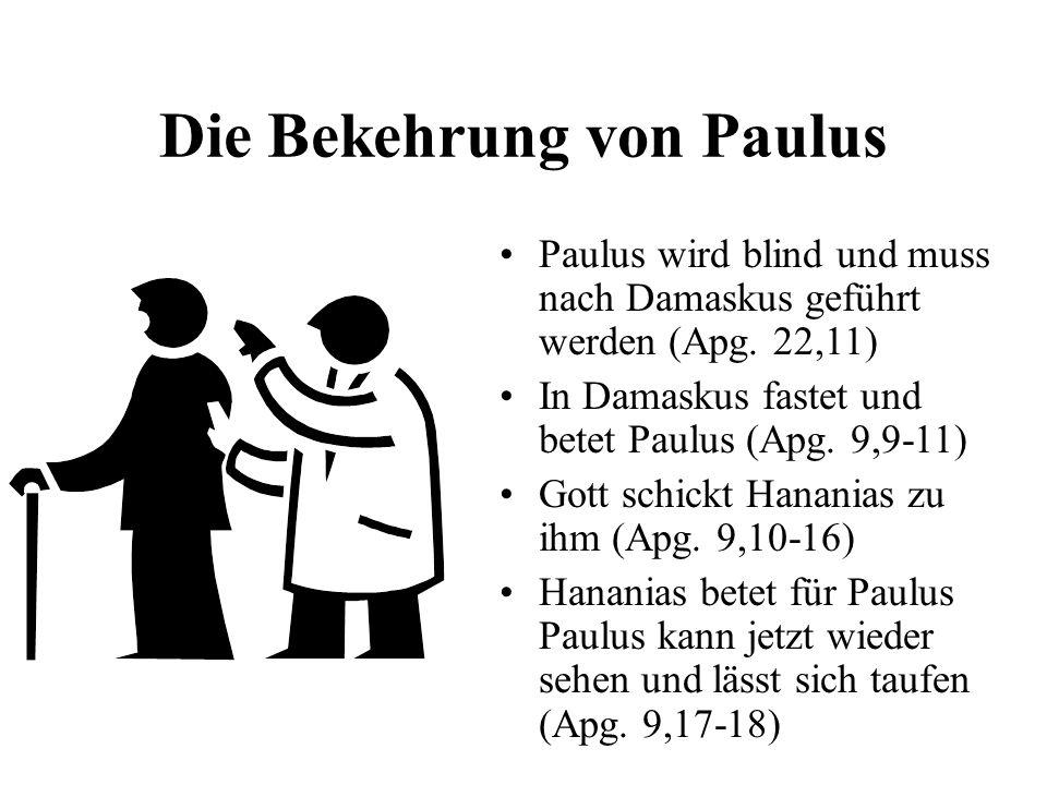 Die Bekehrung von Paulus