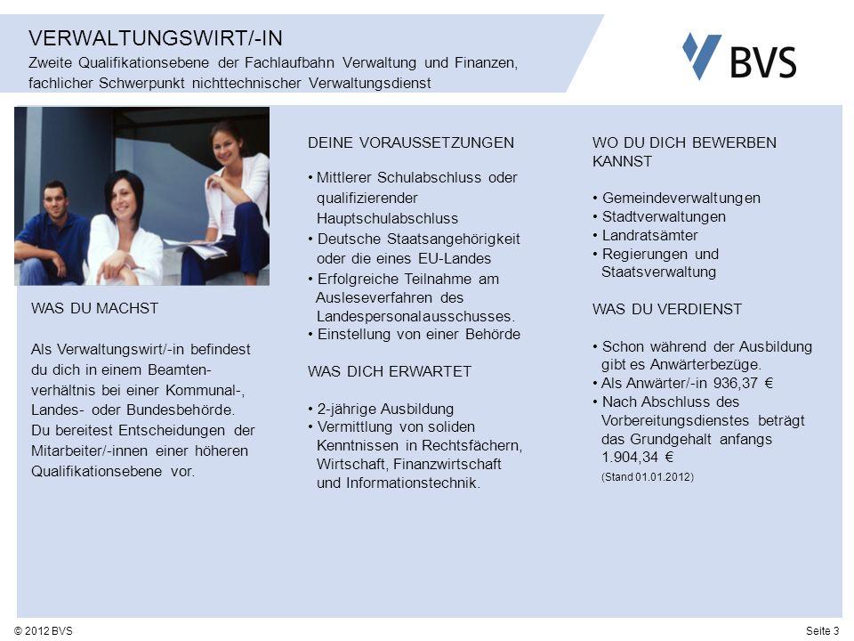 VERWALTUNGSWIRT/-IN Zweite Qualifikationsebene der Fachlaufbahn Verwaltung und Finanzen, fachlicher Schwerpunkt nichttechnischer Verwaltungsdienst