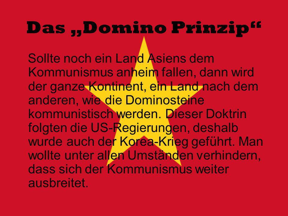 """Das """"Domino Prinzip"""