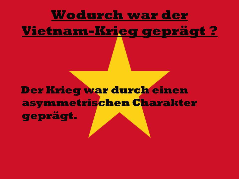 Wodurch war der Vietnam-Krieg geprägt