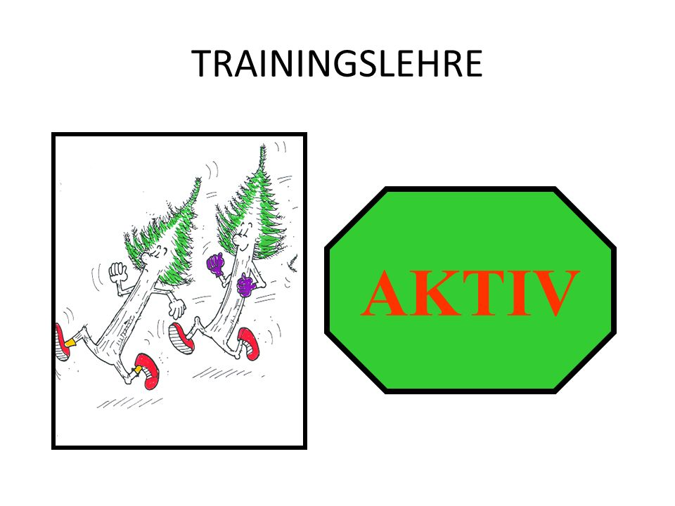 TRAININGSLEHRE AKTIV