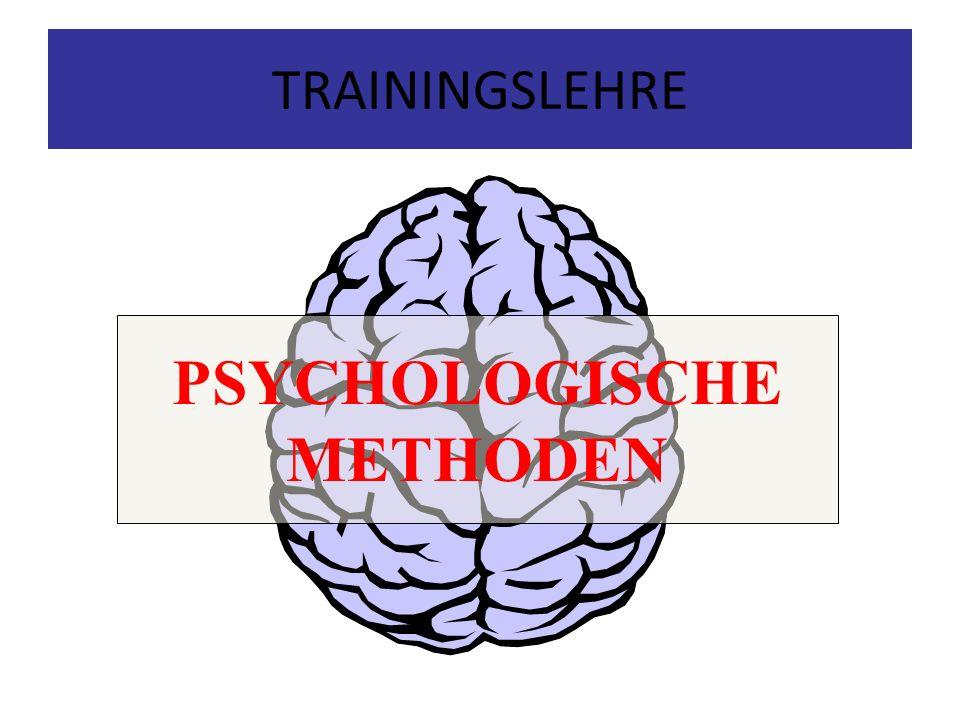 PSYCHOLOGISCHE METHODEN