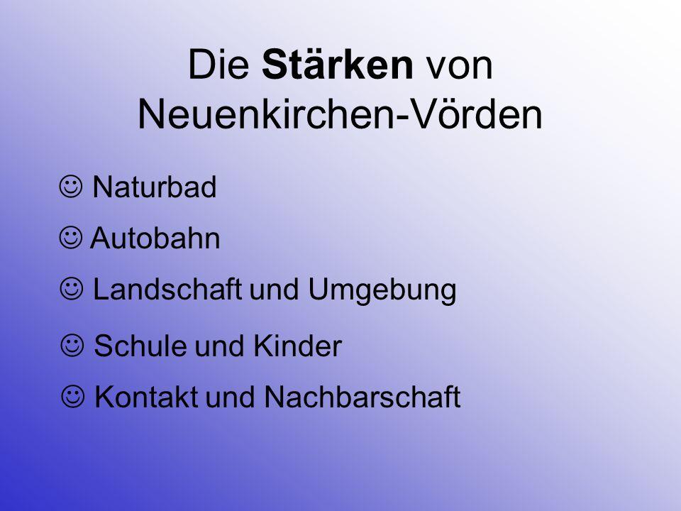 Die Stärken von Neuenkirchen-Vörden