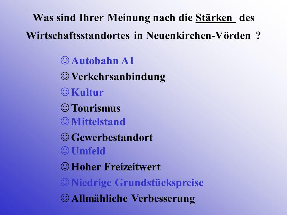 Was sind Ihrer Meinung nach die Stärken des Wirtschaftsstandortes in Neuenkirchen-Vörden