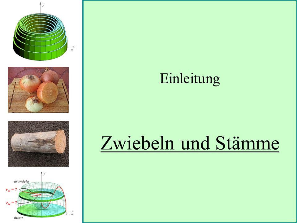 Einleitung Zwiebeln und Stämme