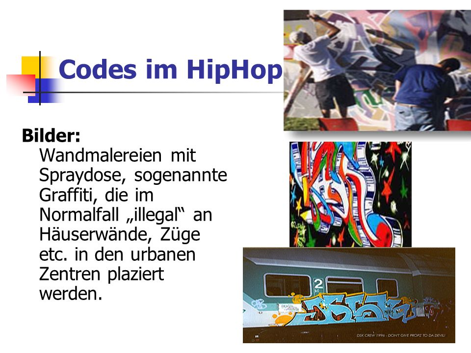 Codes im HipHop