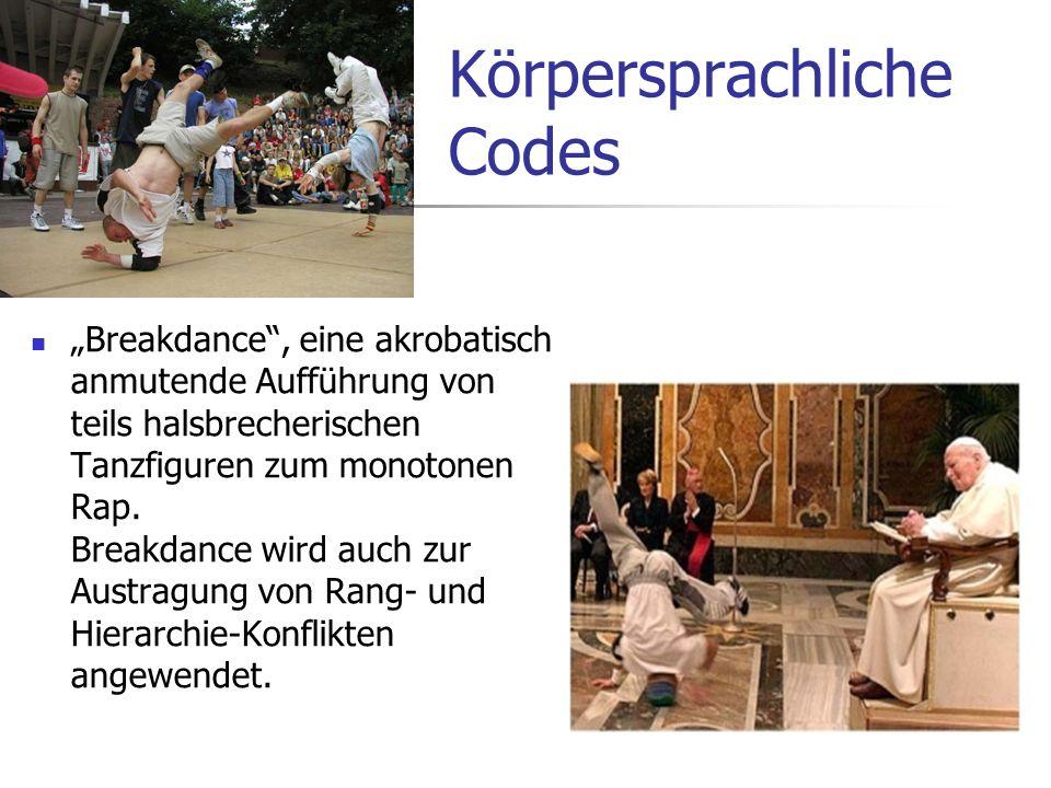 Körpersprachliche Codes