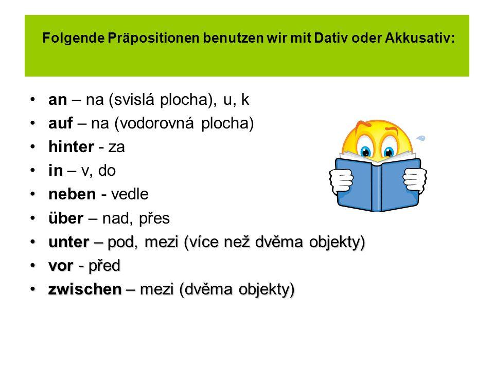 Pr positionen mit dativ und akkusativ ppt herunterladen for Prapositionen mit akkusativ