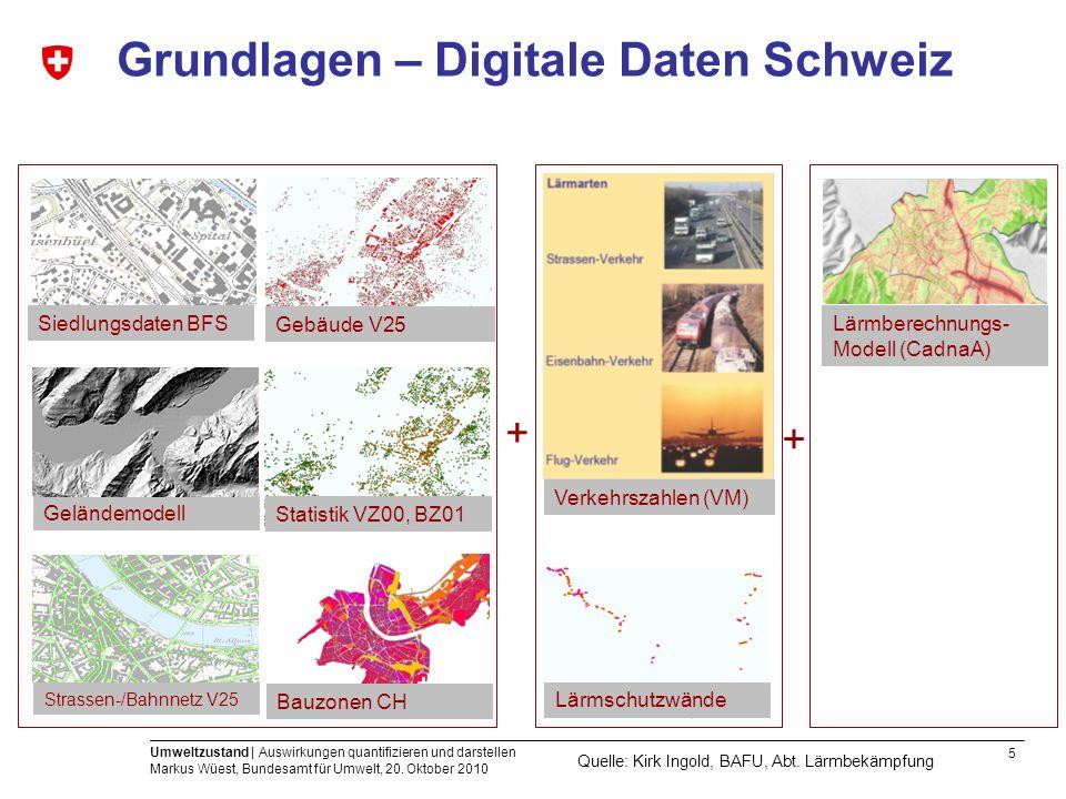Grundlagen – Digitale Daten Schweiz