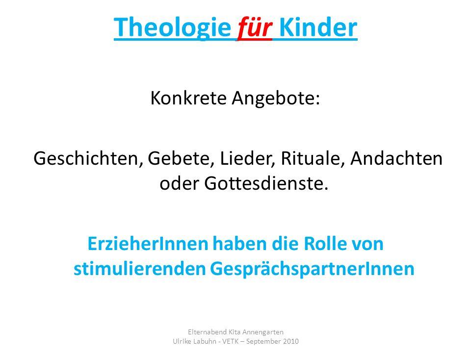 Theologie für Kinder