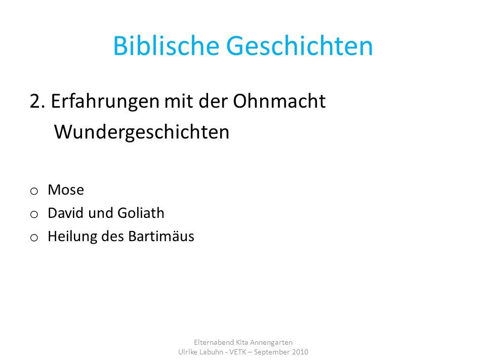 Biblische Geschichten