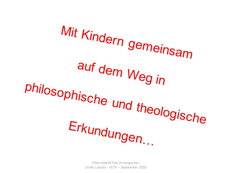 philosophische und theologische