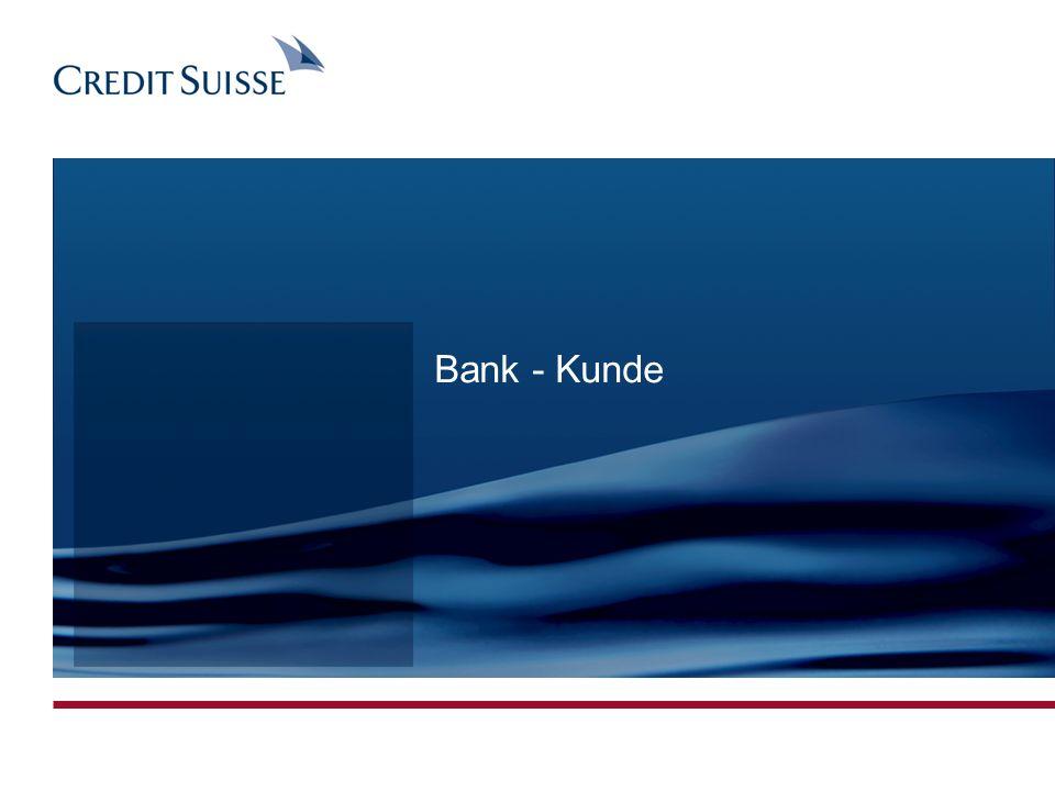 Bank - Kunde