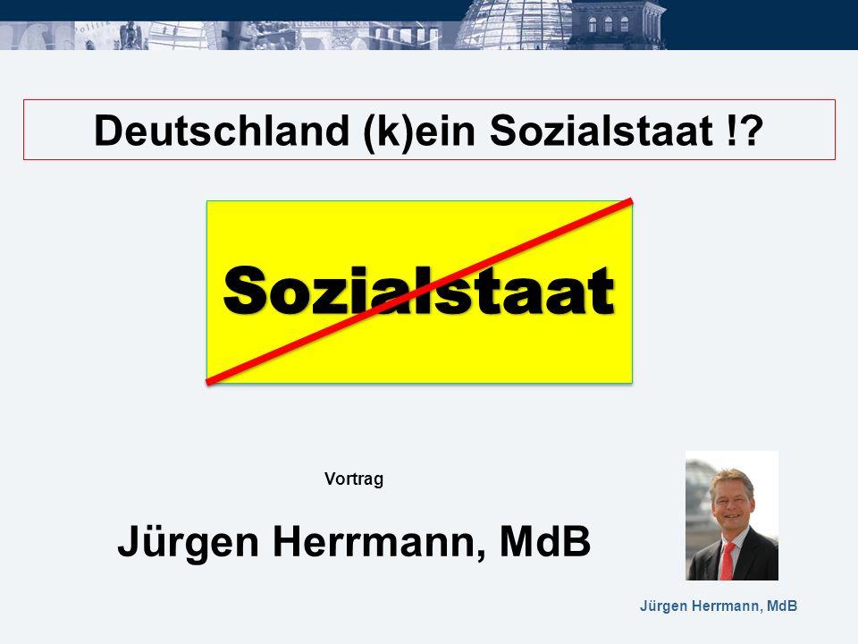 Deutschland (k)ein Sozialstaat !