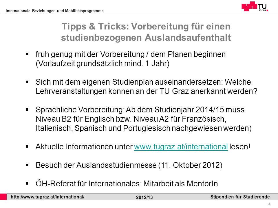 Tipps & Tricks: Vorbereitung für einen studienbezogenen Auslandsaufenthalt