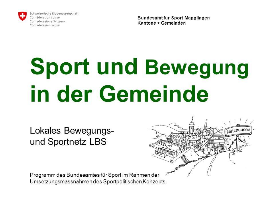 Sport und Bewegung in der Gemeinde