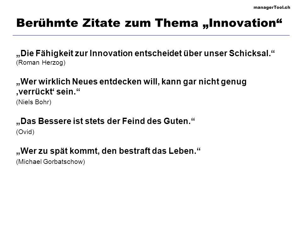 "Berühmte Zitate zum Thema ""Innovation"