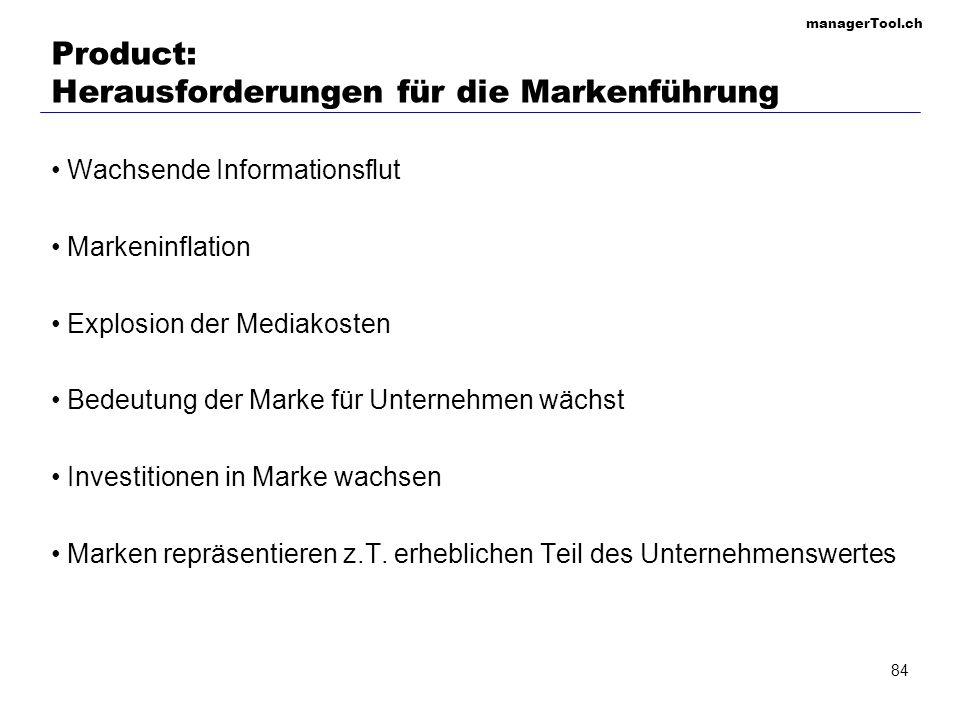 Product: Herausforderungen für die Markenführung