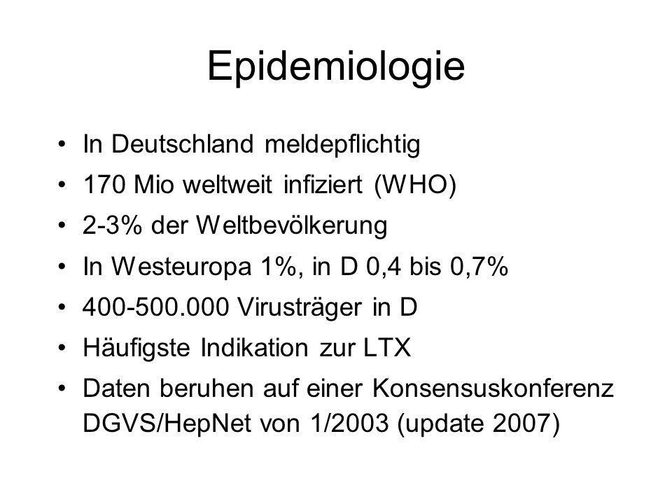 Epidemiologie In Deutschland meldepflichtig