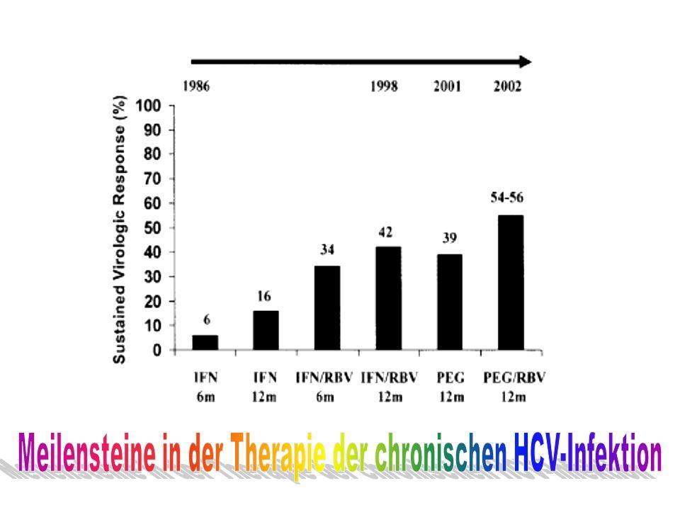 Meilensteine in der Therapie der chronischen HCV-Infektion
