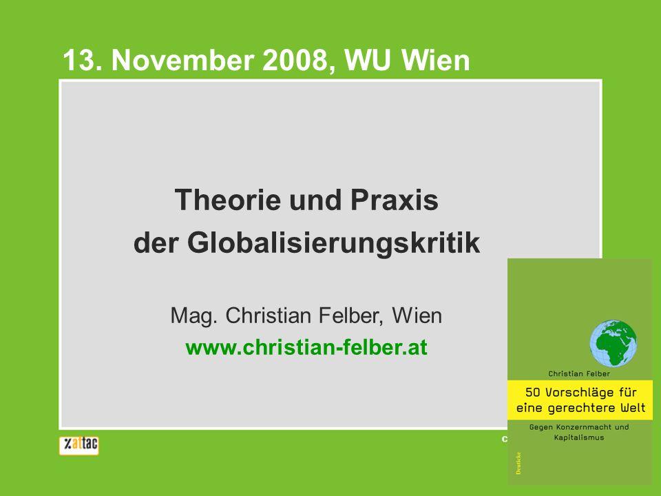 der Globalisierungskritik